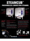 Cleveland 1SCE Kitchen Appliance Brochure (1 pages)