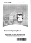 Honeywell TrueSTEAM Humidifier Owner's manual (36 pages)