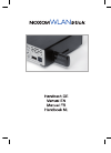 TerraTec NOXON Wireless Router Manual (26 pages)