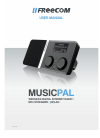 Freecom MusicPal Radio Operation & user's manual (120 pages)