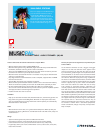 Freecom MusicPal MP3 Player Specifications (2 pages)