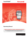 Honeywell TrueSTEAM Humidifier Operating manual (20 pages)