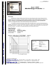 B&B Electronics 232DSP Surge Protector Product information (1 pages)