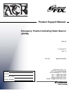 ACR Electronics GLOBAL FIX - REV G Radio Product support manual (22 pages)