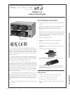 Prince Castle DHB2PT-20 Food Warmer Specification sheet (2 pages)
