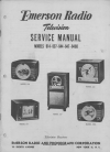 Emerson 614 TV Receiver Service manual (37 pages)