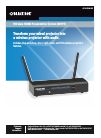 Black Box Wireless HDMI Presentation System (WHPS) Digital Presenters Operation & user's manual (40 pages)